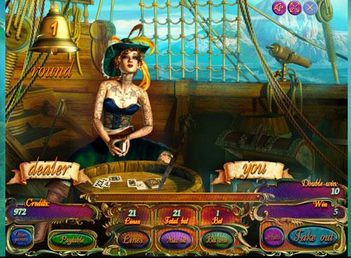 Διπλασιασμός παιχνιδιού Κουλοχέρηδες Pirates Treasures