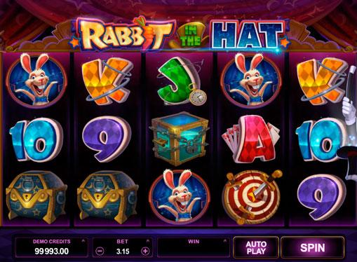 Κουλοχέρηδες με πραγματικά χρήματα - Rabbit in the Hat