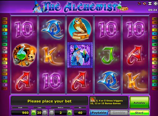 The Alchemist Παίξτε την υποδοχή σε απευθείας σύνδεση