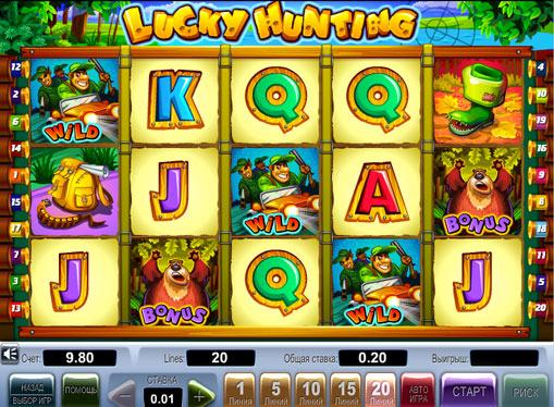 Lucky Hunting Παίξτε την υποδοχή σε απευθείας σύνδεση