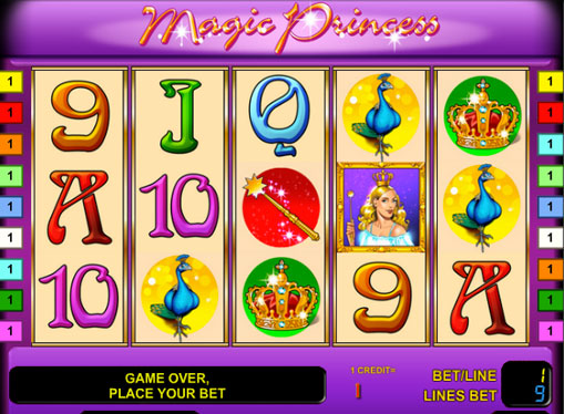 Magic Princess Παίξτε το κουλοχέρη σε απευθείας σύνδεση για χρήματα
