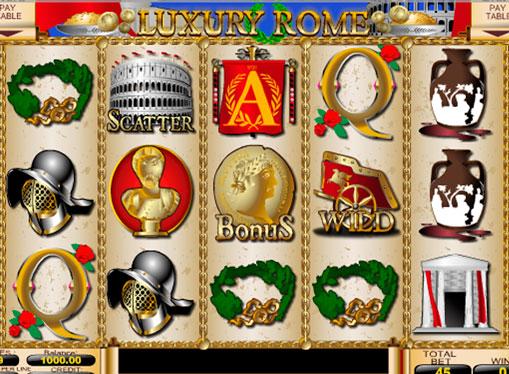 Ροδέλες του Luxury Rome κουλοχέρης
