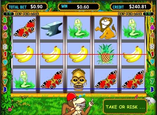 Crazy Monkey Παίξτε την υποδοχή σε απευθείας σύνδεση