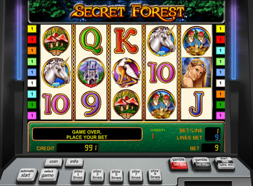 Secret Forest Παίξτε το κουλοχέρη online για χρήματα