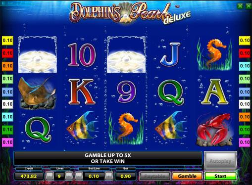 Κερδίστε γραμμή Κουλοχέρηδες Dolphins Pearl Deluxe